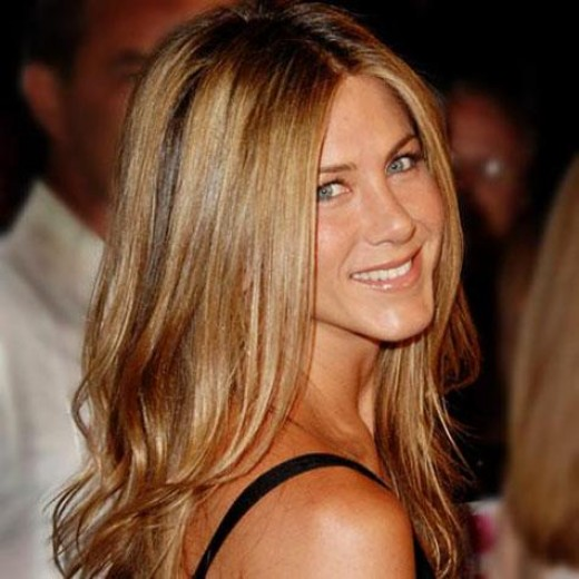 Jennifer Aniston at an award ceremony