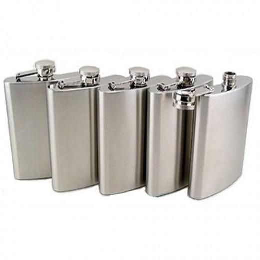 5 piece stainless steel hip flasks