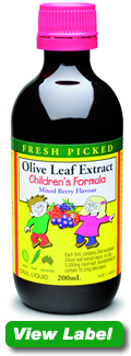 Olive leaf for children