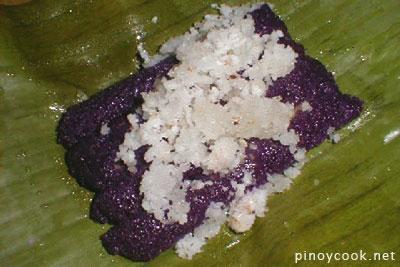 Puto Bumbong (http://pinoycook.net/bibingka-and-puto-bumbong/)
