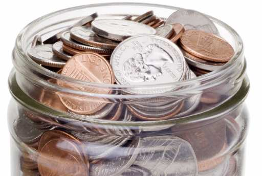 Small change adds up. To make money you start small like a penny or two but then it grows.