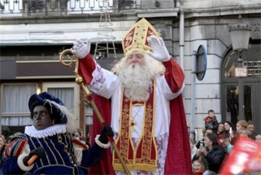 Sinterklaas and Black Peter