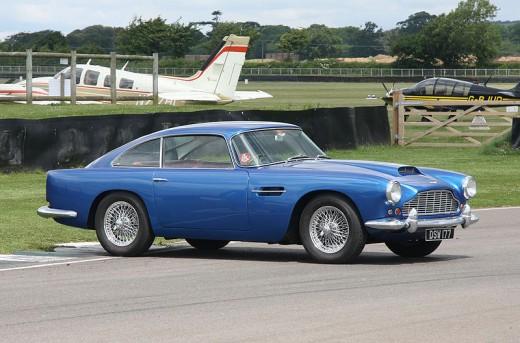 Aston Martin DB4 by Brian Snelson