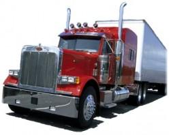 Santa Drives A Truck!