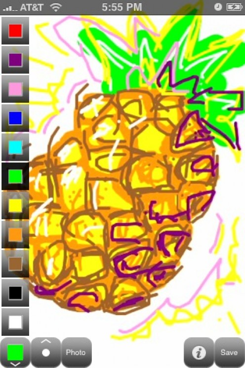 Scribble iPhone App