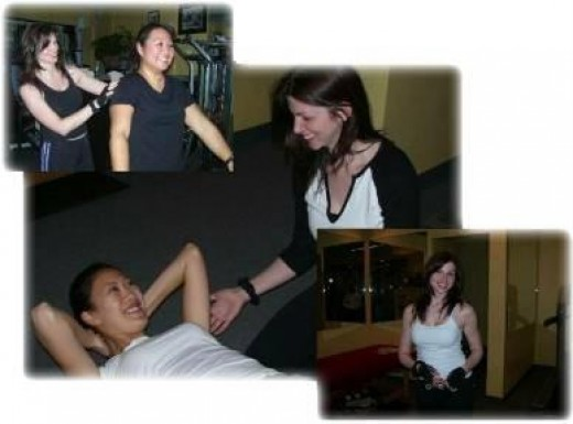 Real Clients from my training days at V-Fitness.  I no longer train there, but it's an awesome Personal Training Studio in Flushing, NY.