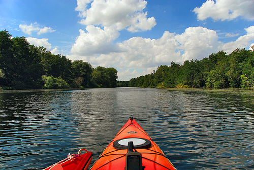 Doesn't this look better than sitting at home feeling sorry for yourself? Photo courtesy of:http://www.flickr.com/photos  /paraflyer/2775632985/