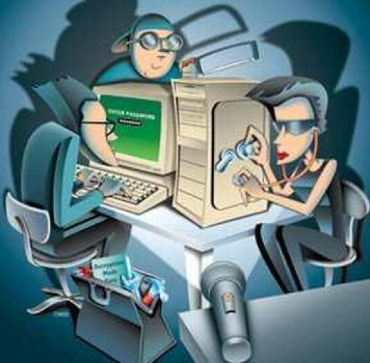 Voip hackers and attackers on work