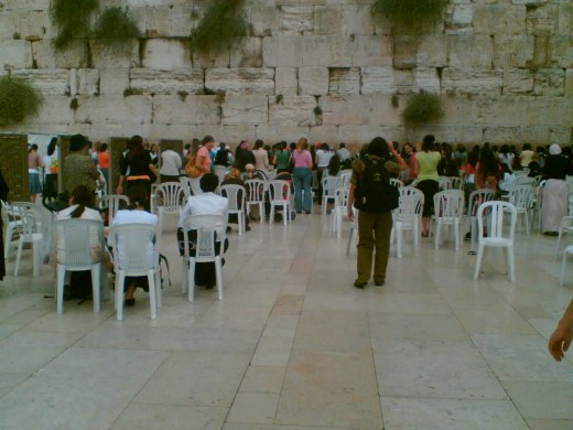 The Wailing Wall-Jerusalem