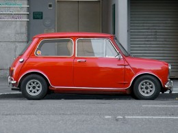 Mini Cooper by Marcin Wichary from San Francisco, U.S.A.