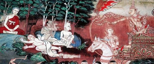 Scene for The Life of the Buddha