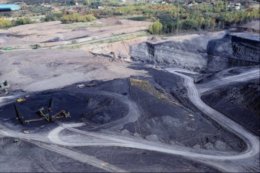 "An ""Open Pit"" Coal Mine"