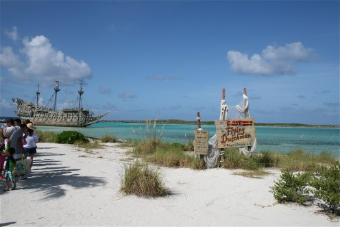Castaway Cay in the Bahamas