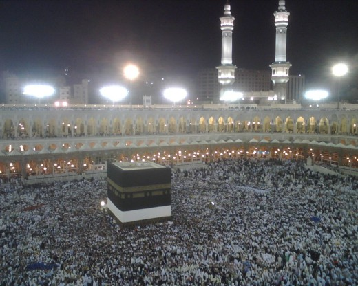 THIS IS THE HOLY CITY OF MUSLIMS: MECCA, SAUDI ARABIA