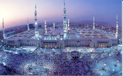 MEDINA, SAUDI ARABIA IS THE OTHER HOLY CITY FOR MUSLIMS