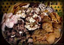 Homemade Fudge & Cookies Gift Baskets
