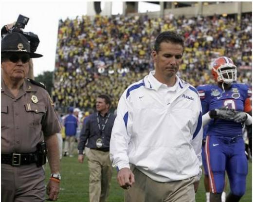 45 Year old 2x NCAA Football Champion Coach Florida's Urban Meyer