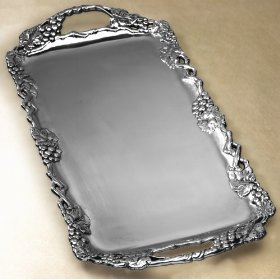 Silver serving trays