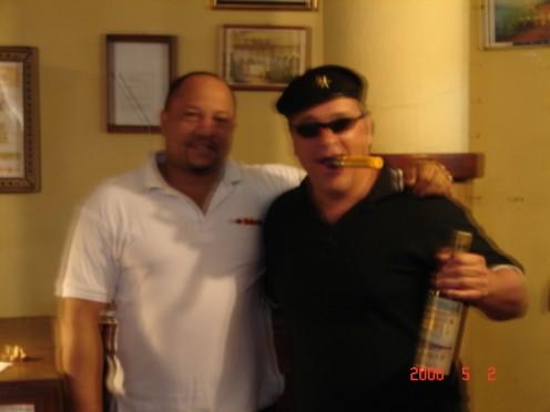 Myself & The Cigar Factory Owner in Old Havana.