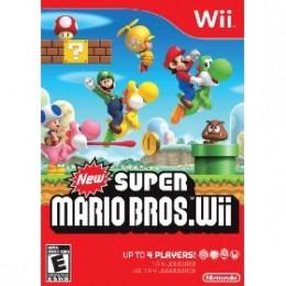 New Super Mario Bros. Wii Box Art
