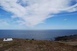 The original site of Cape Jervis Lighthouse