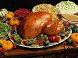 Turkey and dressing...and all the fixin's!