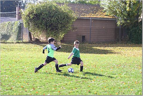 With children, weekends can be filled with sports and other activities (not usually your own!)