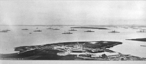 The Imperial German Fleet at Scapa Flow, 1919.