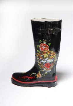 Ed Hardy Rain Boots on Sale