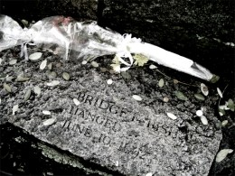 In memory of Bridget Bishop, the first to die in the trials.