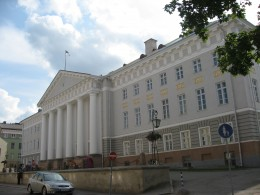 One of the oldest universities in Europe and the World, and one of the top 500 universities in the World, The University of Tartu