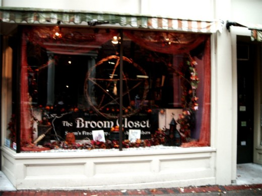 One of a zillion Wicca shops.