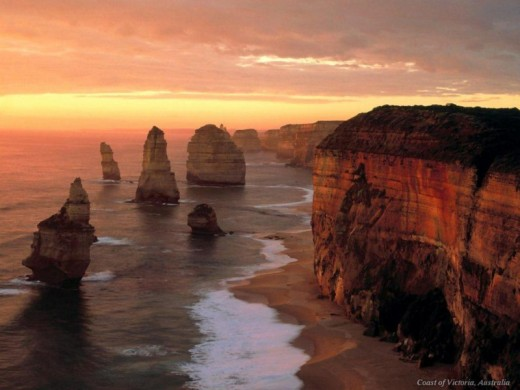 The Twelve Apostles. Vacation in Melbourne area.