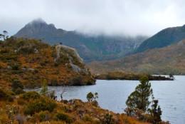 Tasmania's Cradle Mountain often seen misty and mysterious
