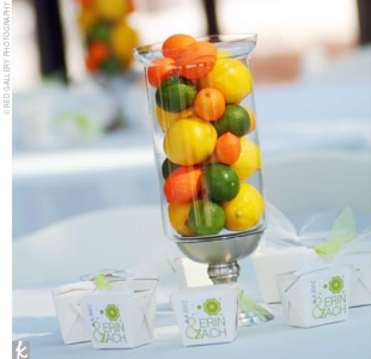 Fruits centerpiece