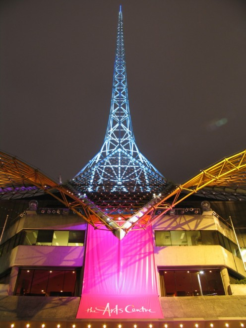 The Art Centre Spire in Melbourne
