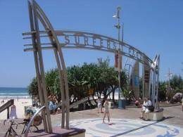 The famous Surfers Paradise beach!