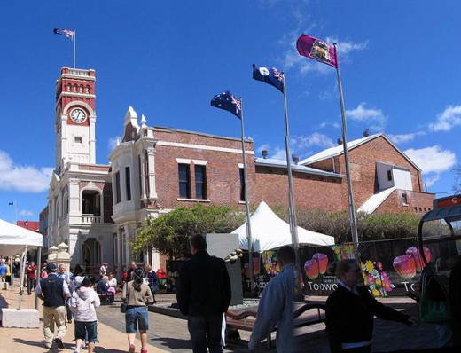 Historical Toowoomba Town Hall