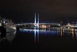 The Bolte Bridge over the Yarra River.