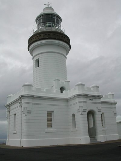 Historic Lighthouse at Byron Bay