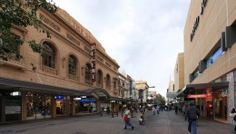 Rundle Mall the hub of Adelaide
