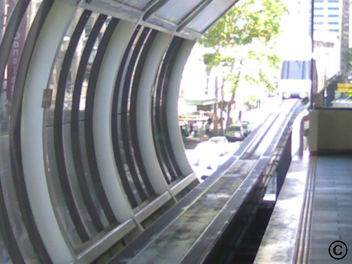 The Mono-rail in Sydney.