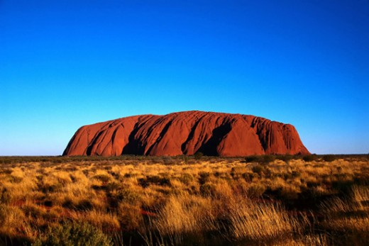 Ulura , formerly known as Ayers Rock.