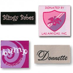 Clothing Labels Samples