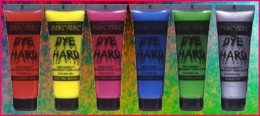 Manic Panic temporary hair colours.