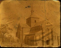 Eglise De Bnquenay, Ardennes, Nov 9th 1918 (Photo taken by my Uncle Walt while serving in France