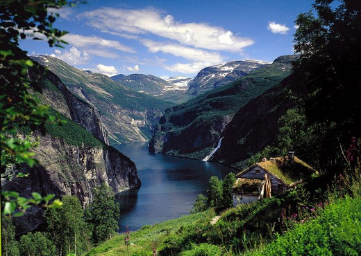 One of Norways Fjords - Oslo