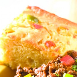 Delicious Festive Mexican Corn Bread Is So Delicious Served With Your Super Sunday Beef Chili And Texas Veggie Slaw.