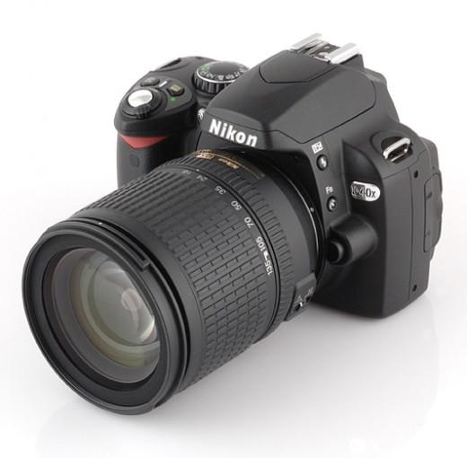 The Nikon D40x