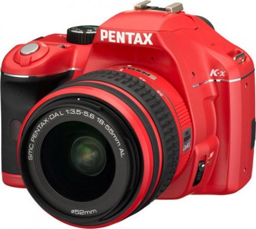 The Pentax K-x